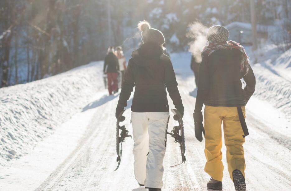 Photo activité raquettes hiver
